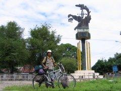 旅行家李跃中自行车10年游历88国